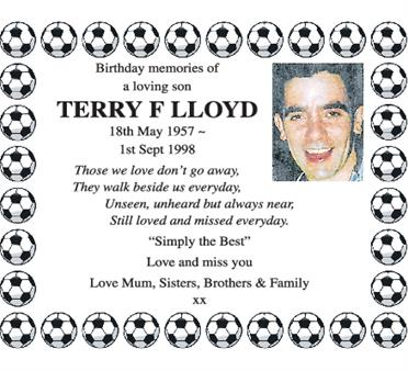 Terry F Lloyd