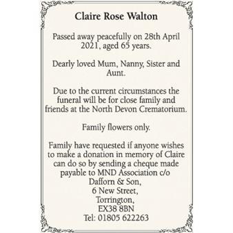 Claire Walton