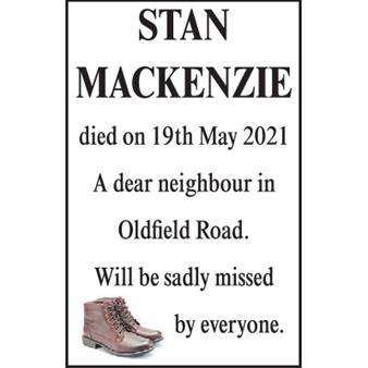Stan Mackenzie