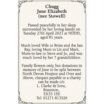 June Chugg