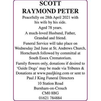 Raymond Peter Scott