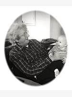 John with great-granddaughter Lily