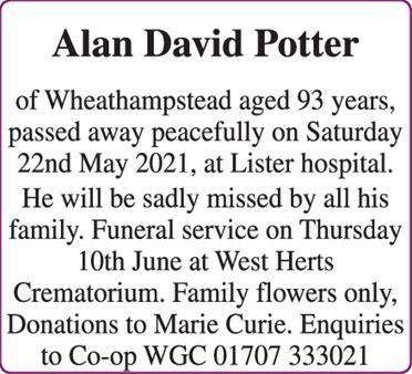 Potter -Alan David