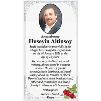 Huseyin Altinsoy