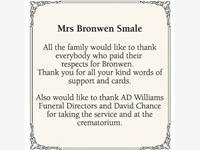 Bronwen Smale