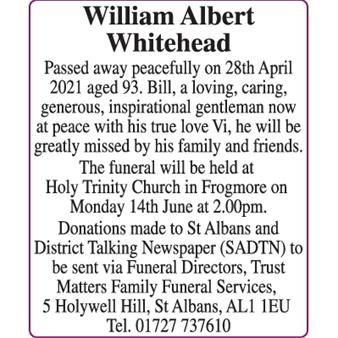 William Albert Whitehead