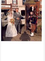 Wedding in 1989