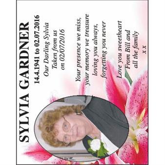 Sylvia Gardner