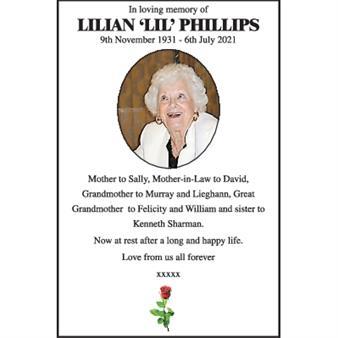 Lilian Phillips