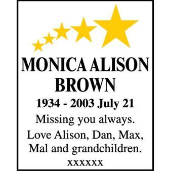 Monica Alison Brown