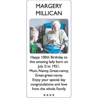 MARGERY MILLICAN