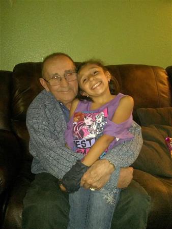 Grandad and Mya