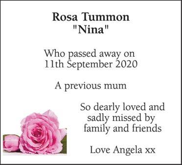 Rosa Tummon