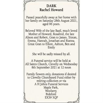 Rachael Dark