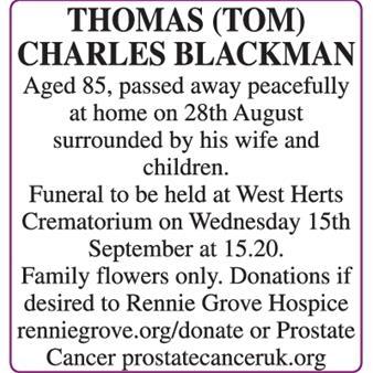 THOMAS BLACKMAN