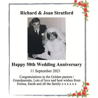 Richard & Joan Stratford