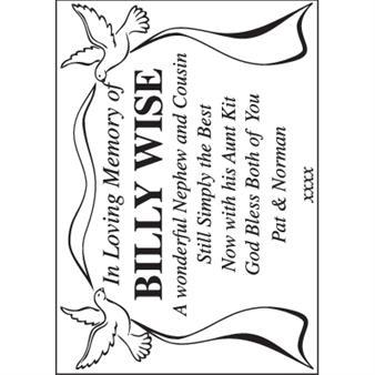 In Loving Memory of Billy Wise