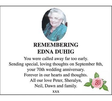 Edna Duhig