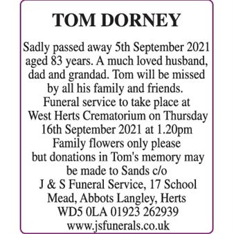 TOM DORNEY