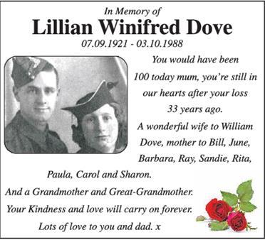 Lillian Dove